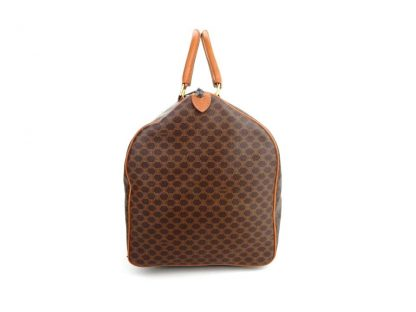 bf309c06a Cheap Céline Fake Macadam Keepall 50 Duffle Brown Monogram Canvas Leather  Weekend/Travel Bag celine box bag