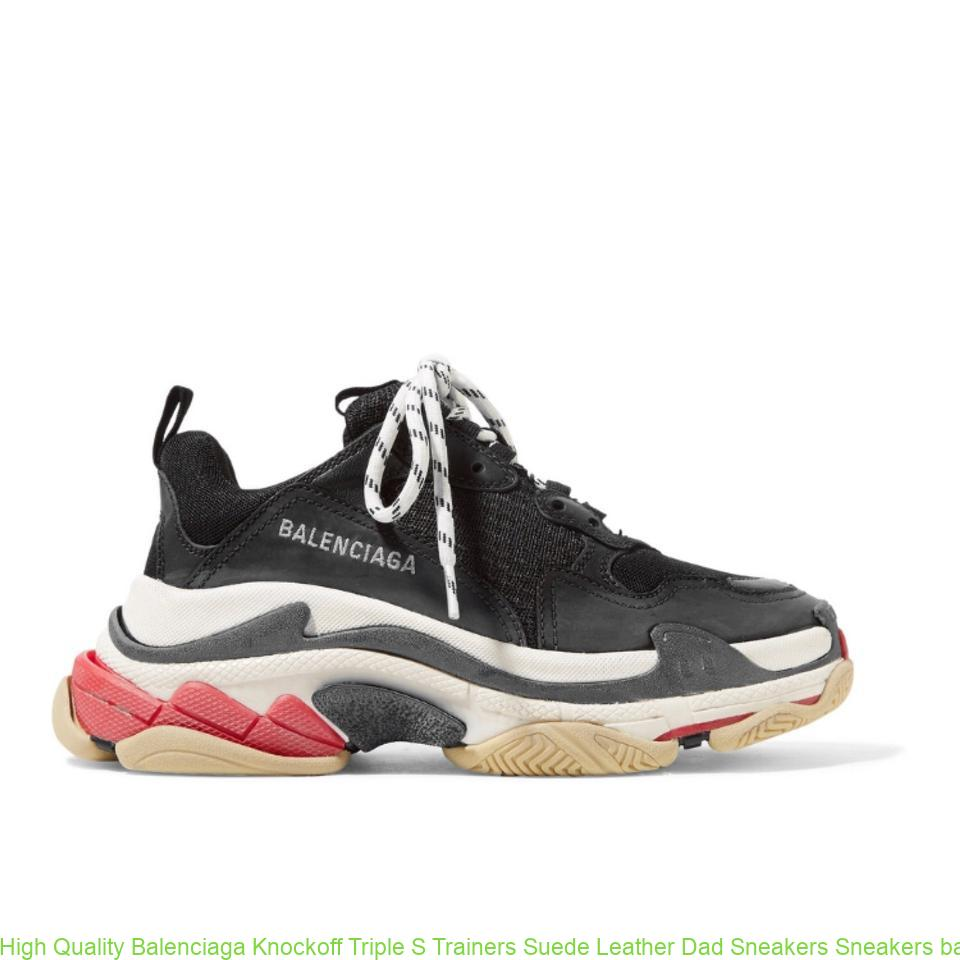 High Quality Balenciaga Knockoff Triple S Trainers Suede