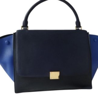 3cd308a91fe8 You re viewing  Perfect Quality Céline Imitation Trapeze Tri-color Long  Strap Excellent Condition Navy Black Blue Leather Shoulder Bag how to spot  fake ...